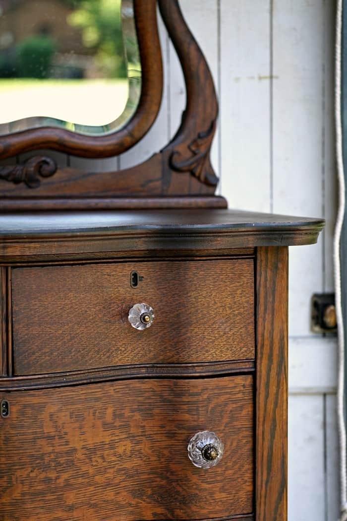 antique oak furniture restored