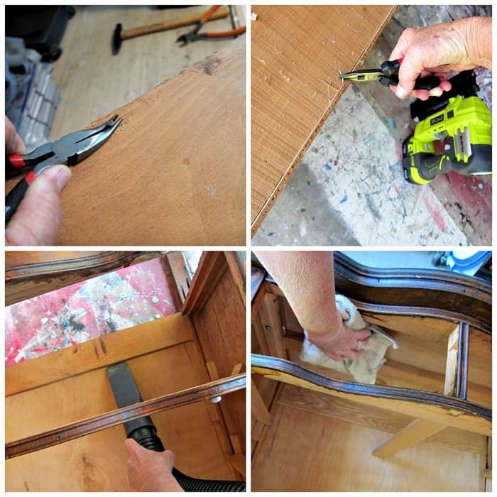 cleaning antique furniture