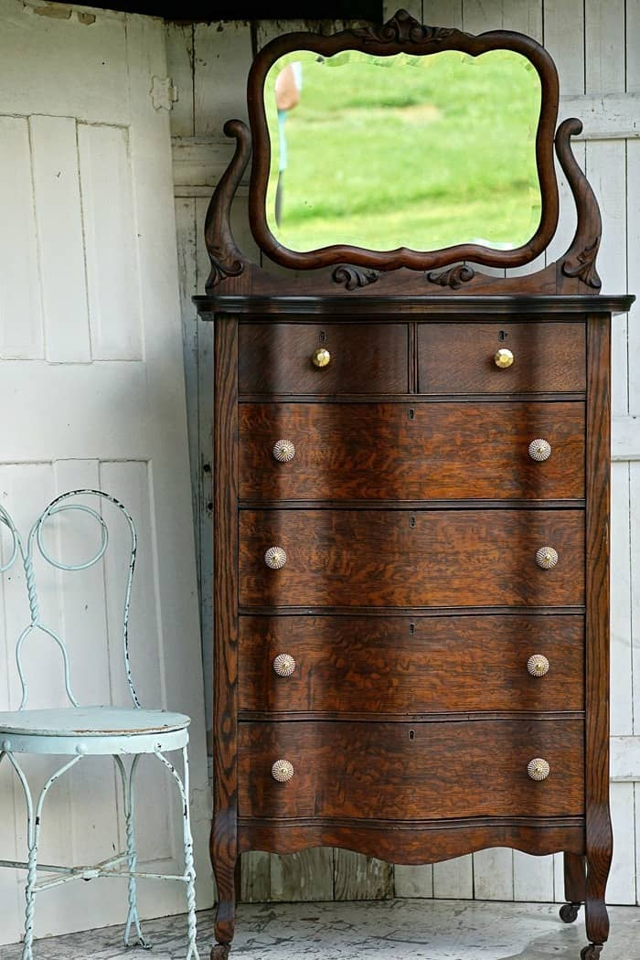 how to restore antique furniture to it's original glory