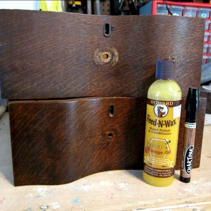 restore the natural beauty of antique furniture with Howard's Feed n Wax