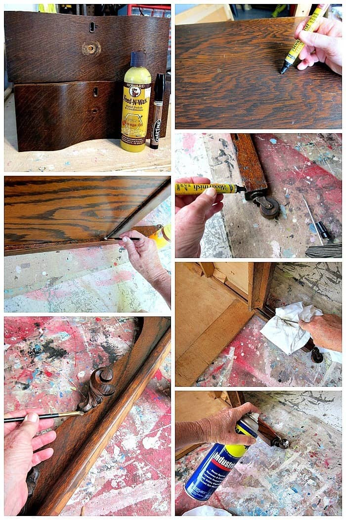 refurbishing antique furniture with Howads