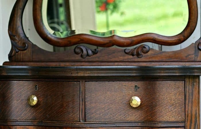 antique furniture restored to it's original beauty