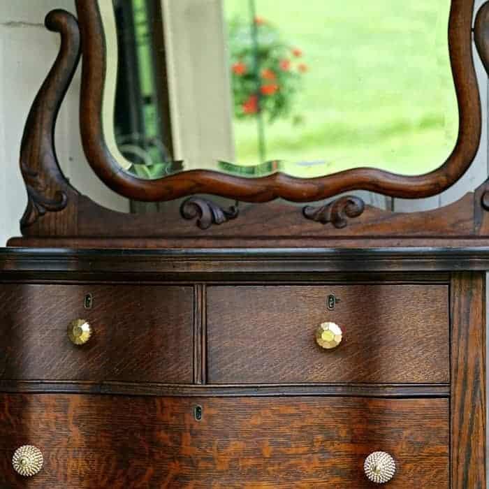 restored antique oak furniture