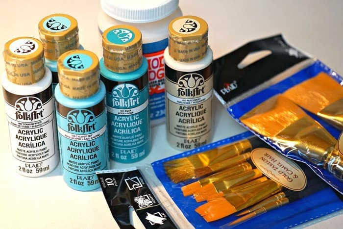 Fun Paint Projects Using New Products And A Giveaway