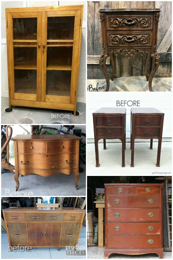 Furniture Fixer Uppers Projects for June 2018