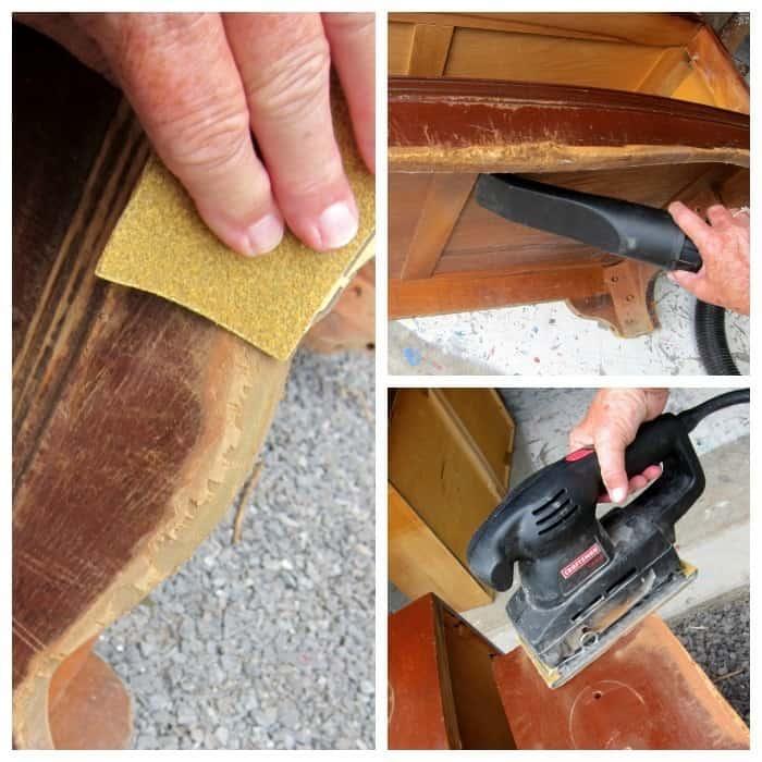 making damaged furniture beautiful again