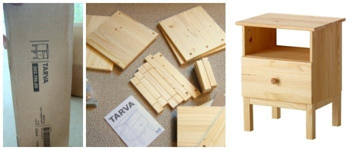 Tarva box and instructions