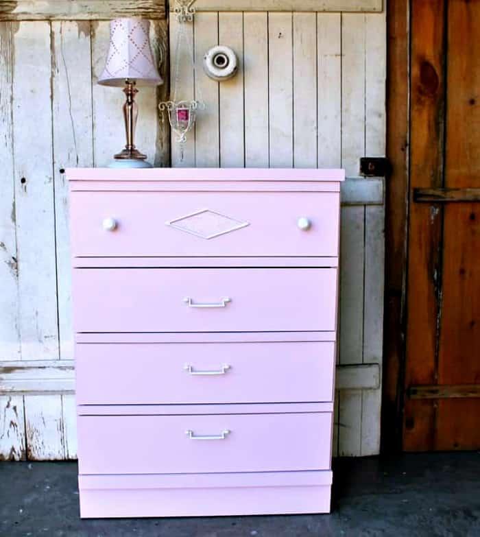 paint fake wood furniture