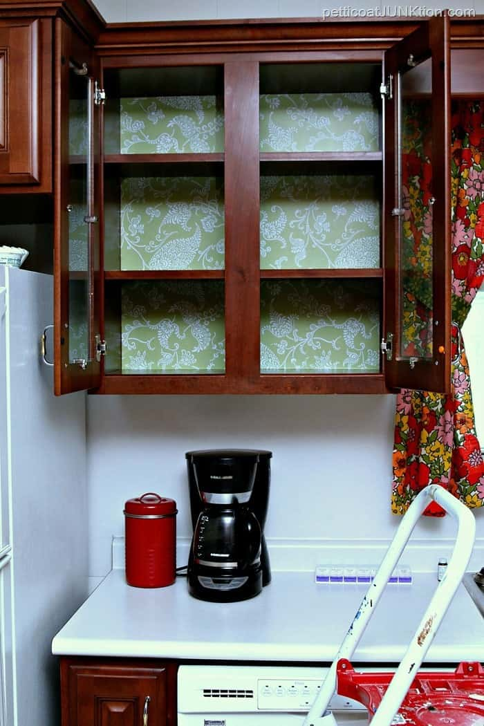 Adhesive Drawer Liner Transforms Cabinets
