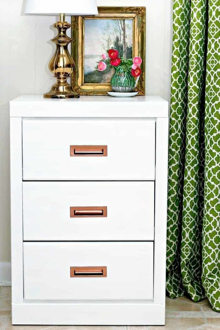 how to paint ugly office furniture