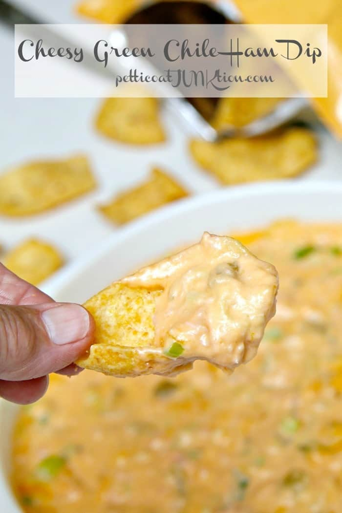 Wicked Good Green Chile Cheese Dip