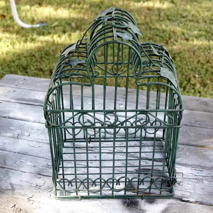 flea market bird cage