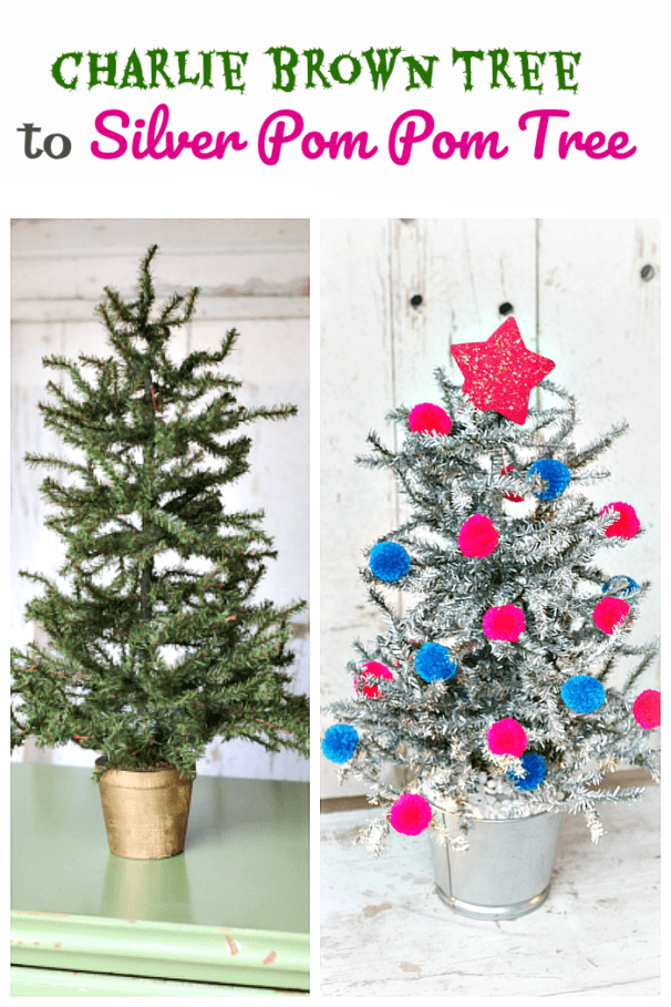Charlie Brown tree makeover