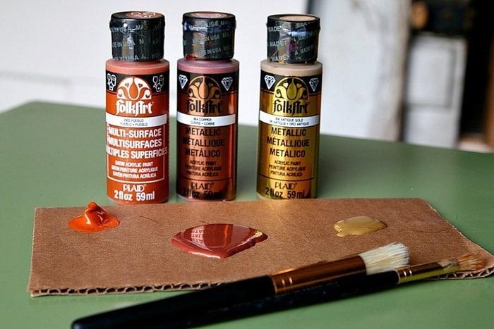 FolkArt Acrylic and Metallic Paint