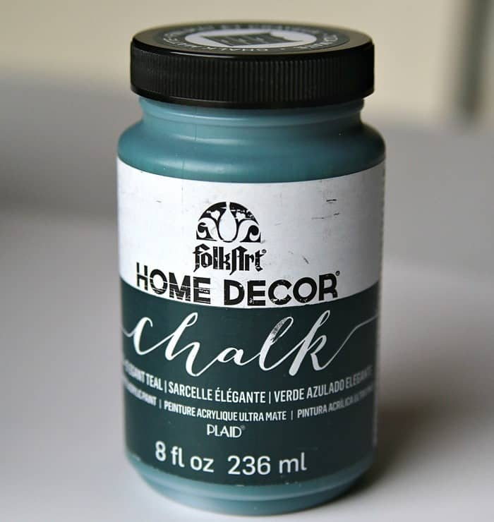 FolkArt Home Decor Chalk Elegant Teal