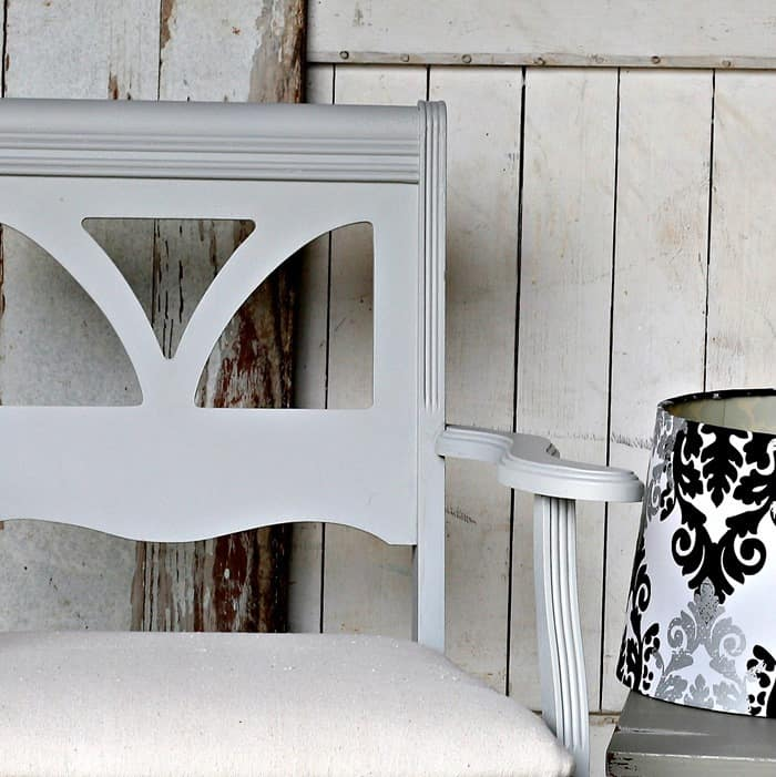 Soft Gray Paint Color For Dining Chairs Makeover
