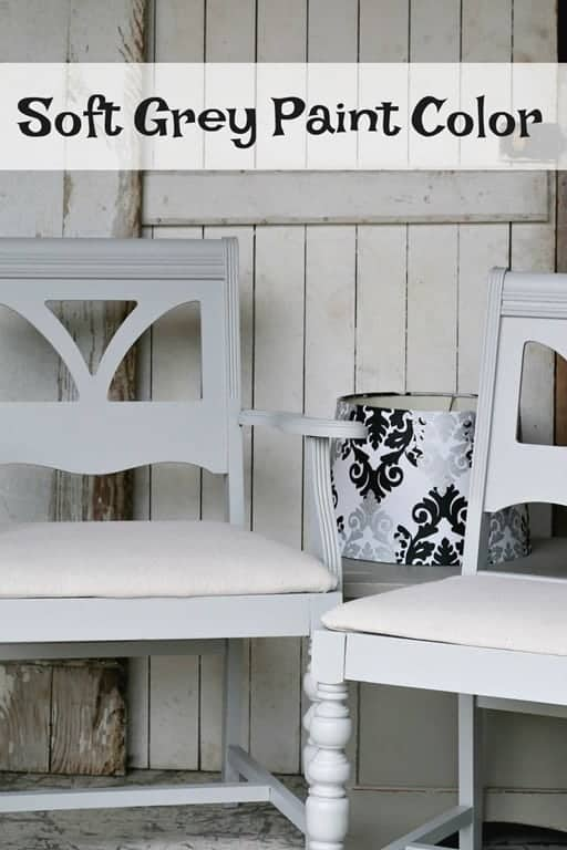 Upcycled Dining Chairs Grey