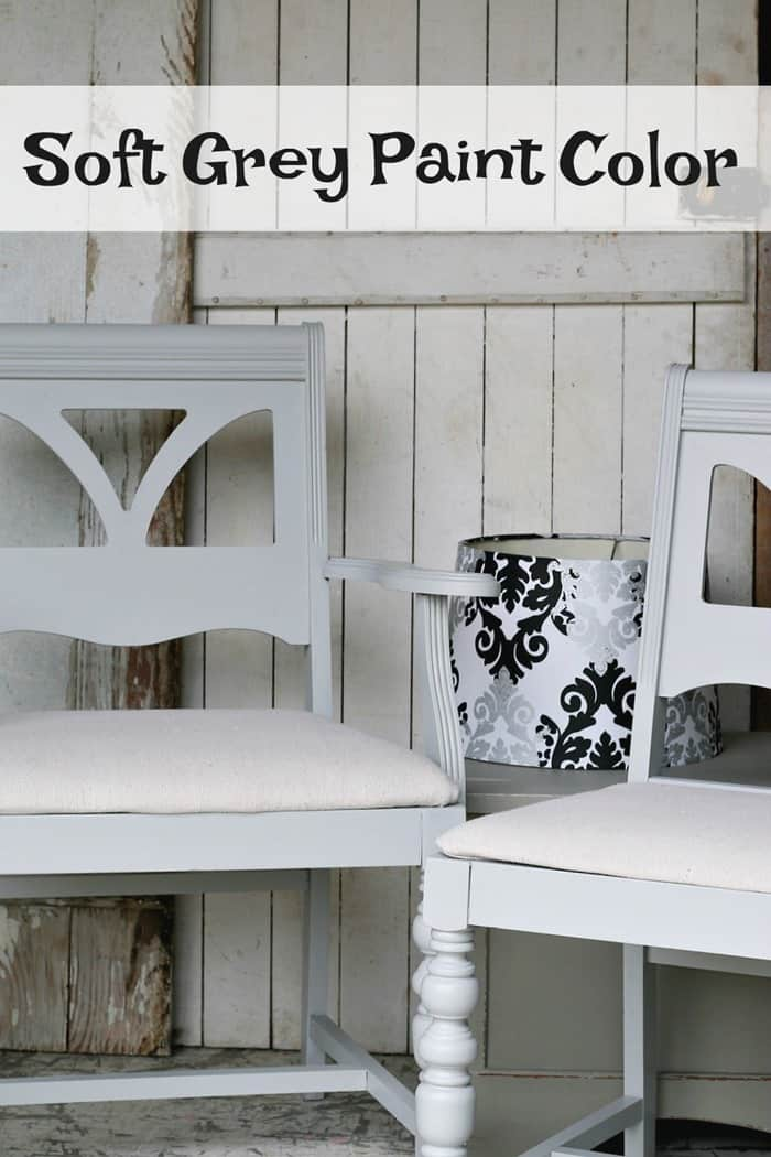 Soft Grey furniture paint color from Beyond Paint
