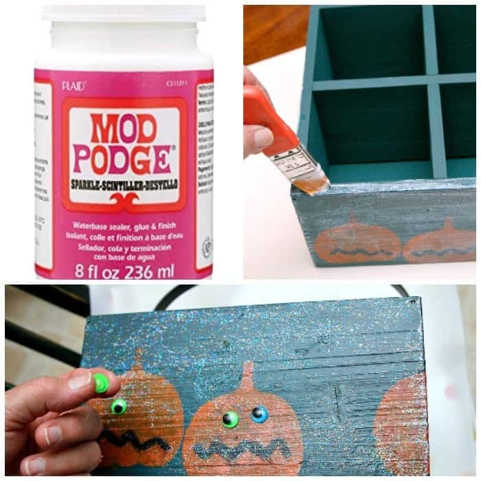 Sparkle Mod Podge adds shimmer and shine to any craft project
