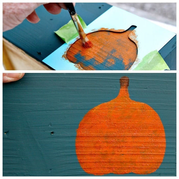 Stencil project for Fall