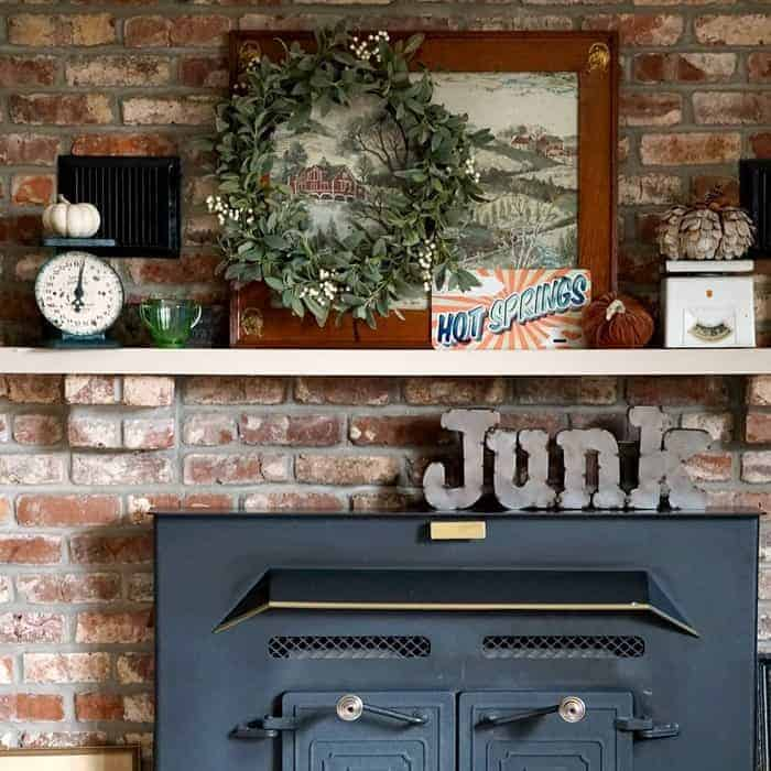 What I Want To Be When I Grow Up Eclectic Mantel Decor