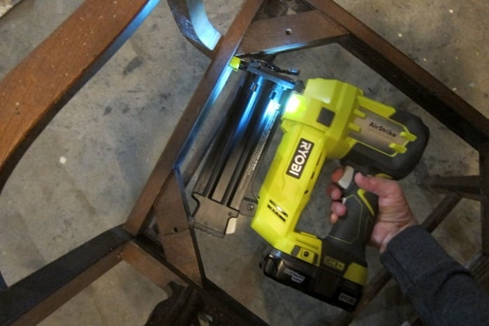 brad nailer for furniture repairs