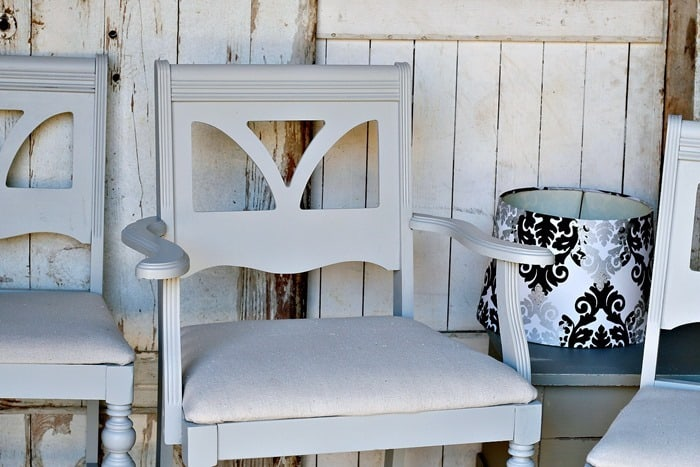 how to paint dining room chairs