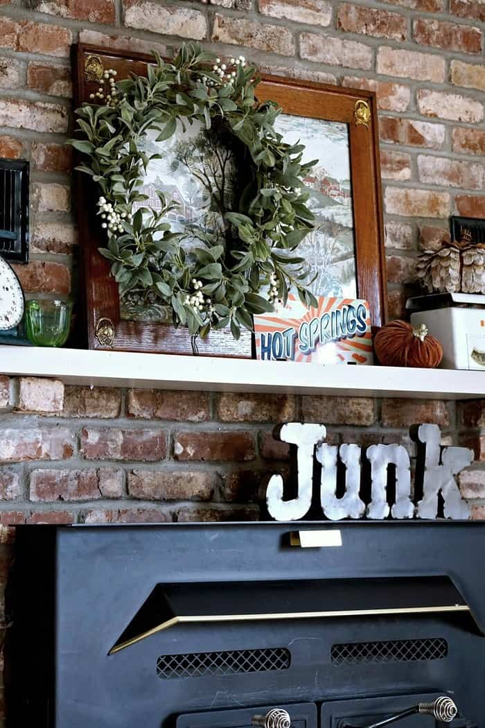unique and fun decorating ideas for the mantel