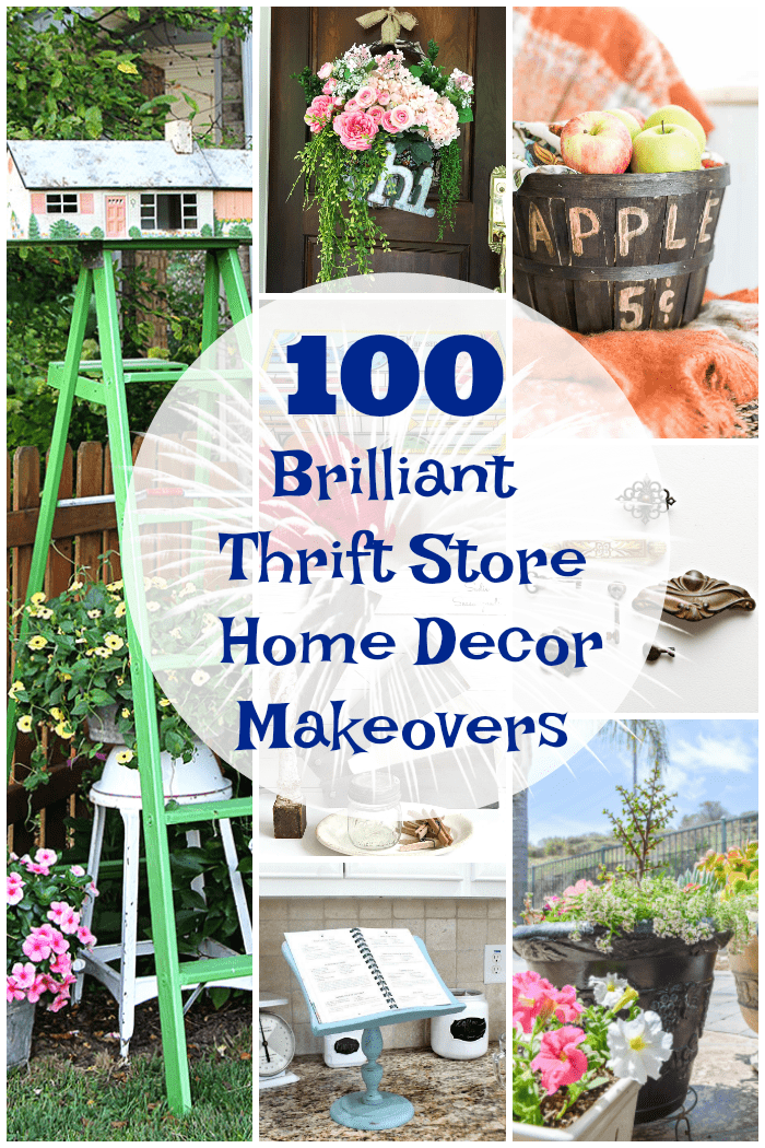 100 Thrift Store Home Decor Makeovers