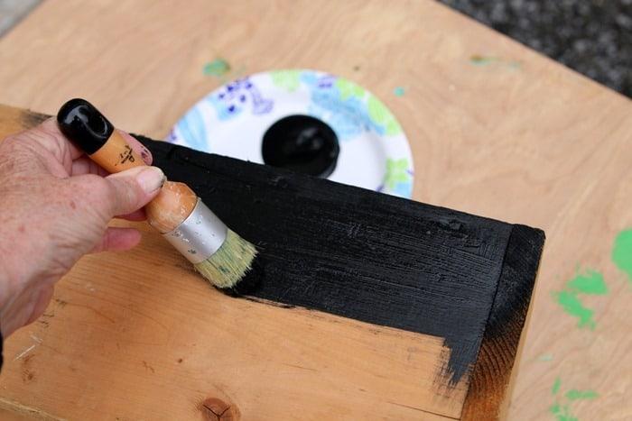 Delta Ceramcoat black paint