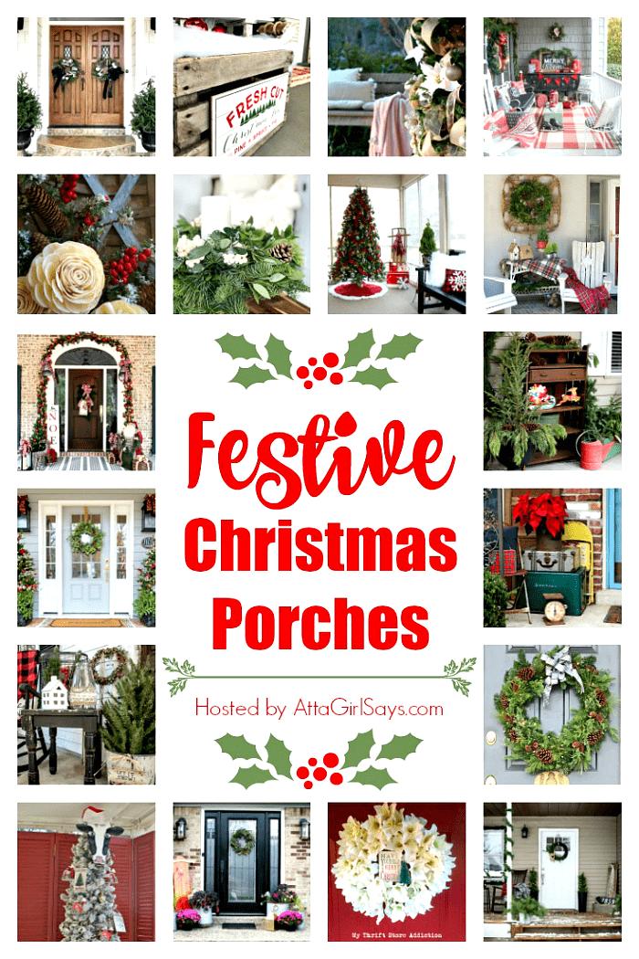 Festive Christmas Porches Tour 2018
