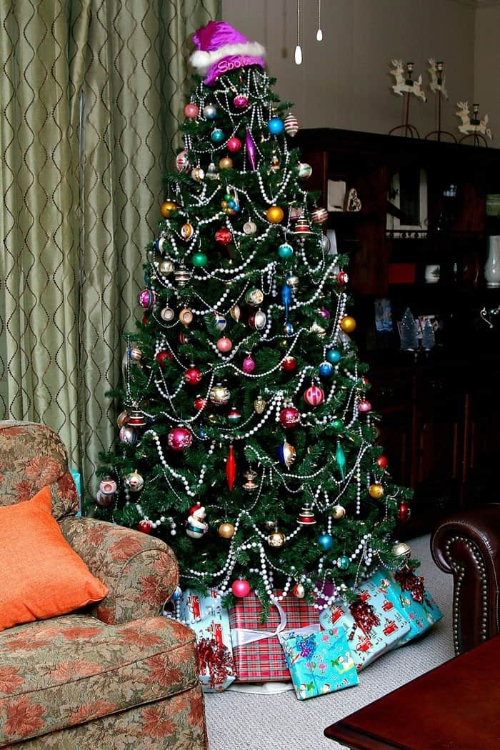 Spectacular Shiny Brite Ornaments Tree from Petticoat Junktion