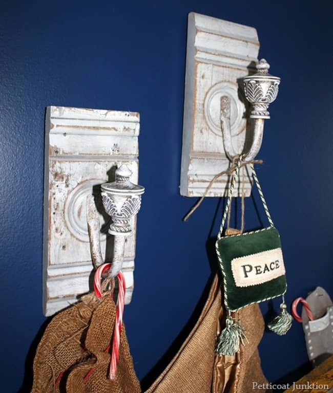 architectural salvage stocking hangers
