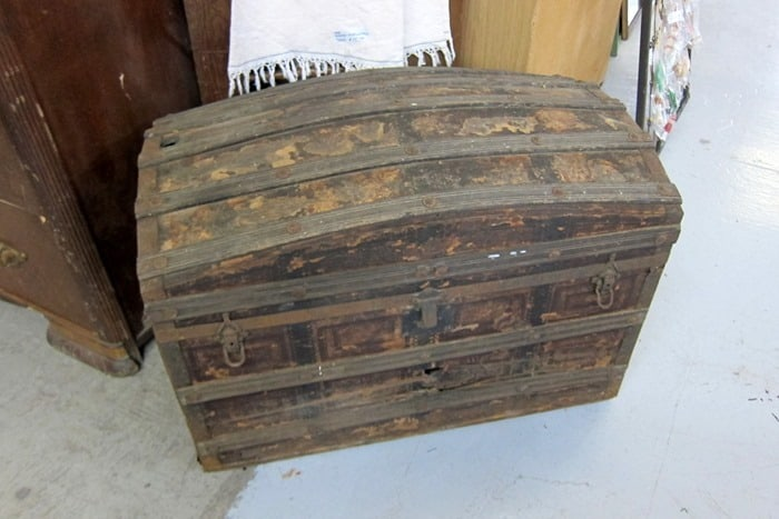Antique Trunk at Southern Kentucky Flea Market