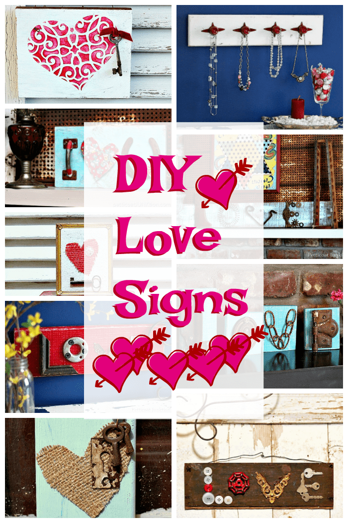 DIY Love Sign Projects