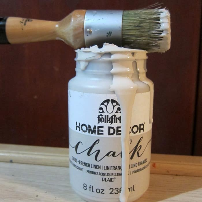 Home Decor Chalk Finish from FolkArt
