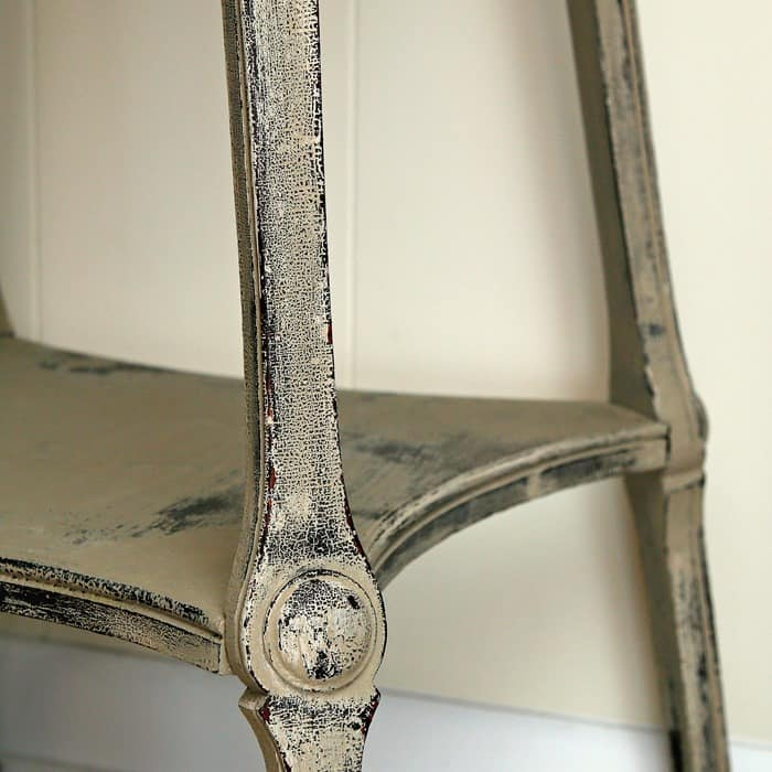 How To Distress Painted Antique Furniture Without Sanding