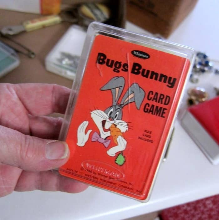 Vintage Bugs Bunny Card Deck