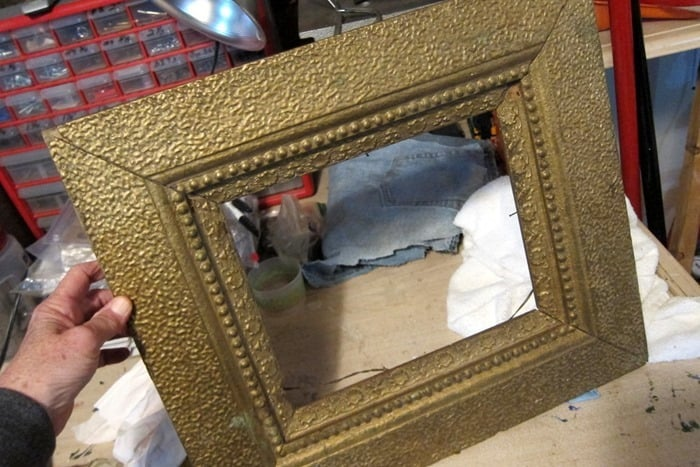 antique frame to paint