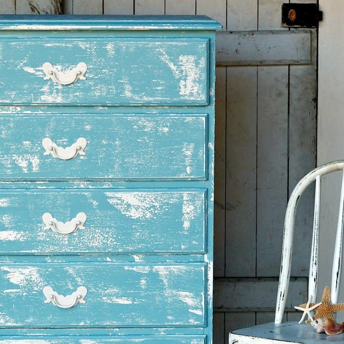 easy paint layering chalk finish for furniture