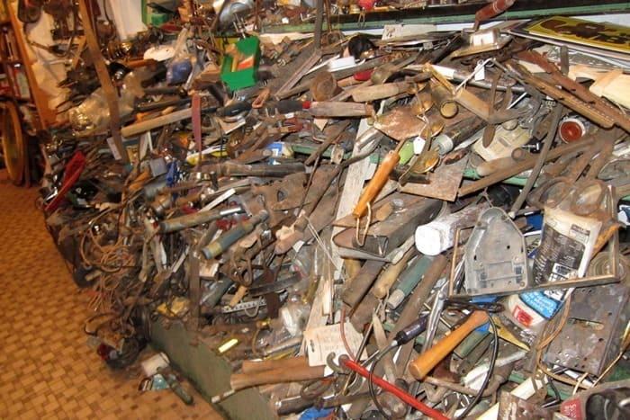 inside my favorite junk shop