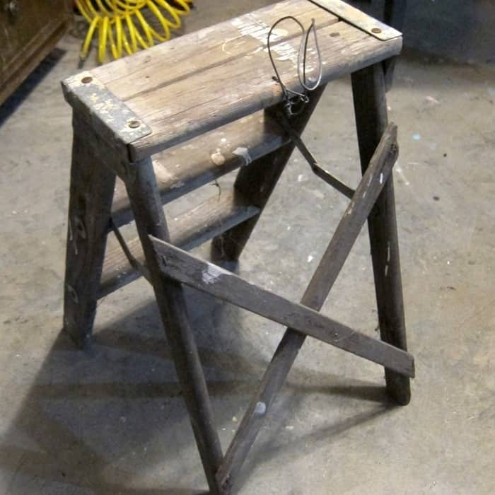 small used step ladder