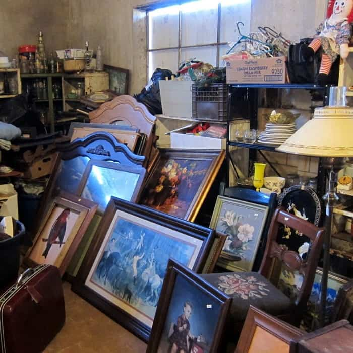 inside the junk shop