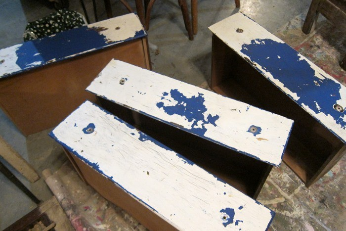 chippy paint drawers