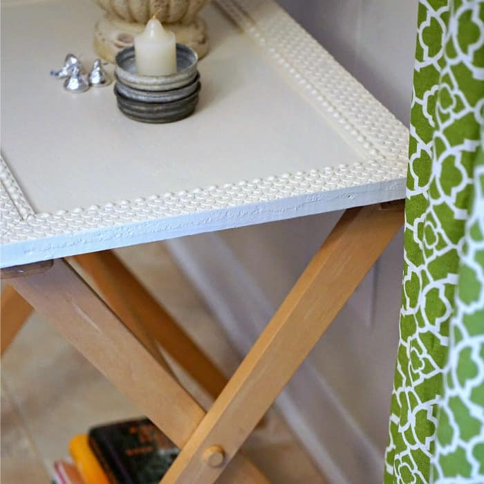 how to add a table top to a folding tray table