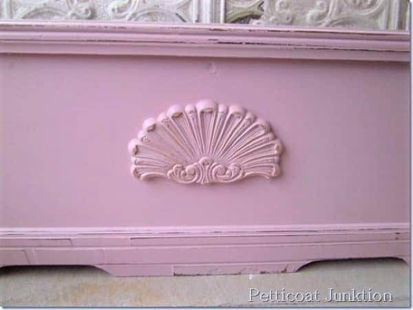pink cedar chest makeover (2)