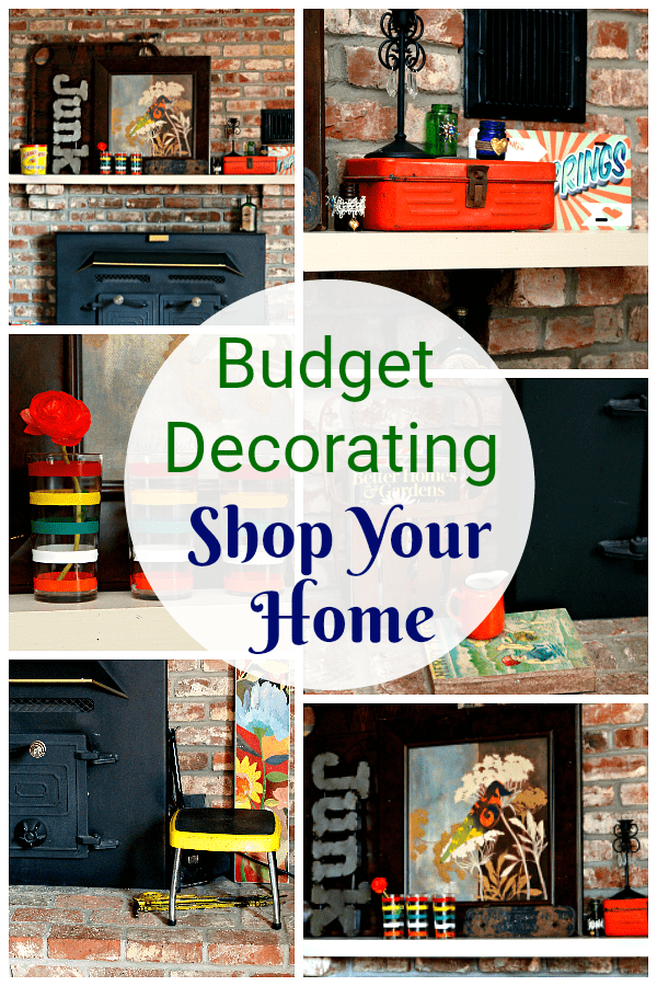 Mantel Decorating 101 Shop Your Home
