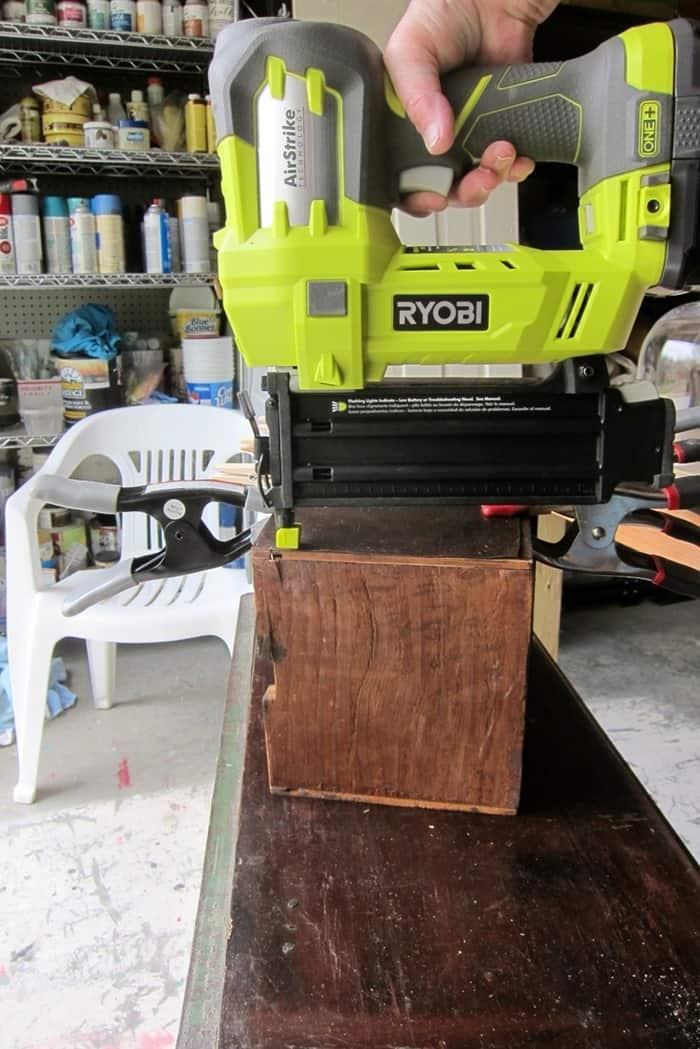 Ryobi brad nailer for furniture repairs