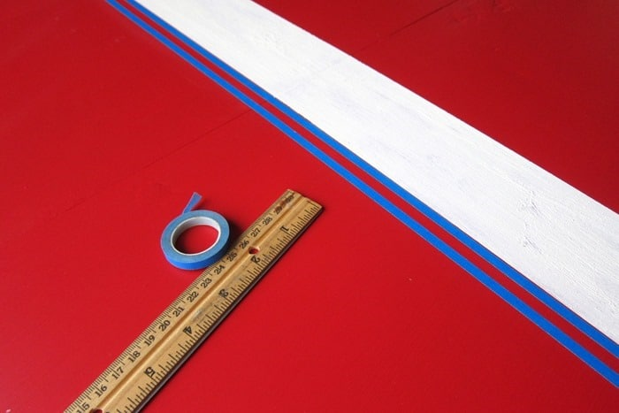 auto detail tape to paint furniture stripes