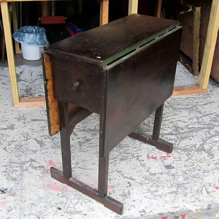 drop leaf table furniture project